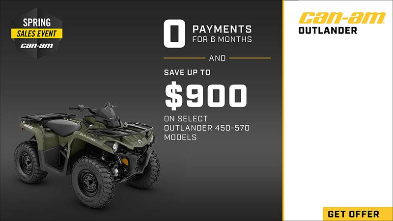 Can-Am - Spring Sales Event - ATV