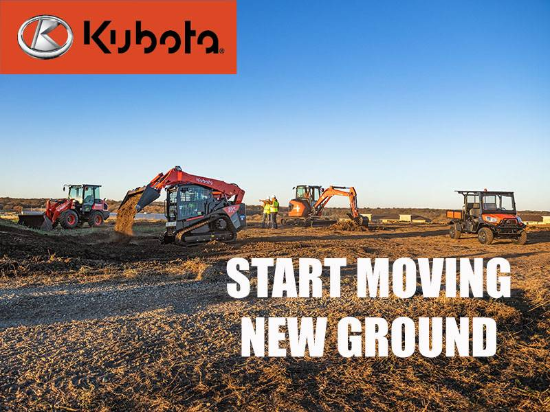 Kubota - Start Moving New Ground