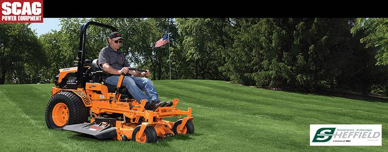 SCAG Power Equipment - Lawn Mower - Sheffield Financing Programs