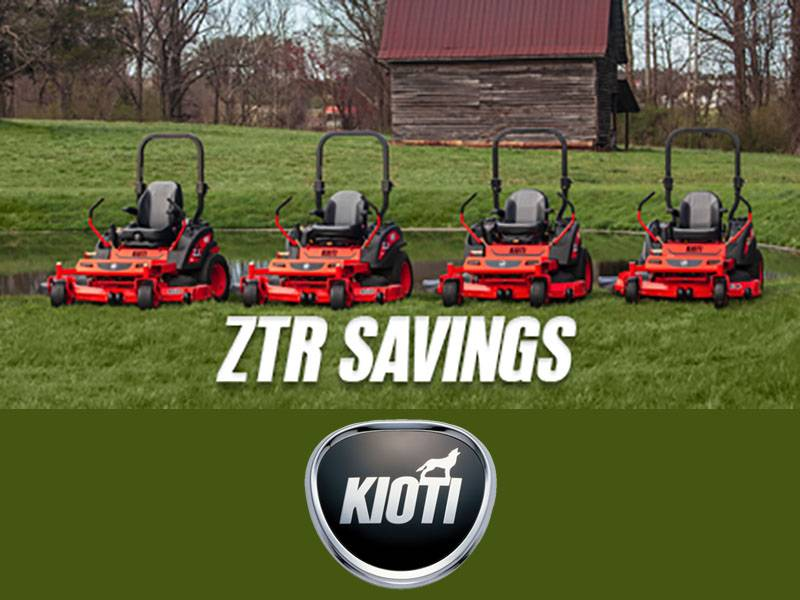 Kioti - ZTR Savings