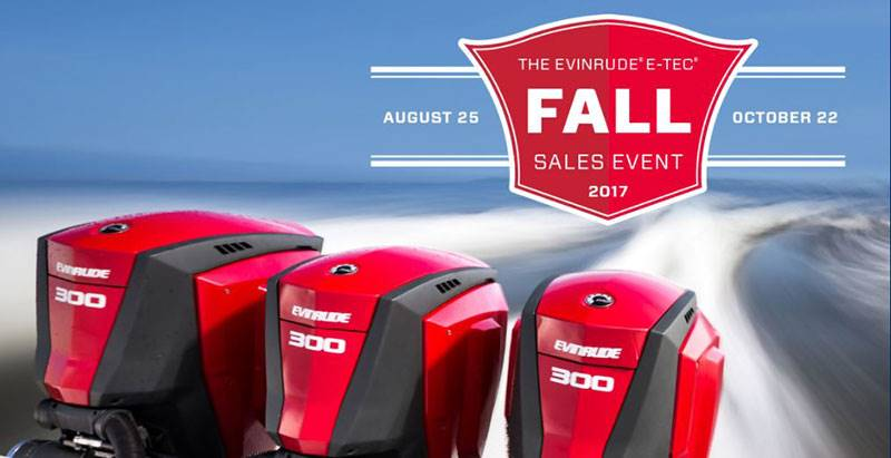 Evinrude - Fall Sales Event