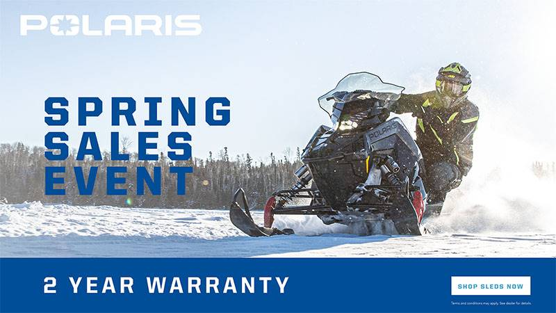 Polaris - Spring Sales Event - Snowmobile