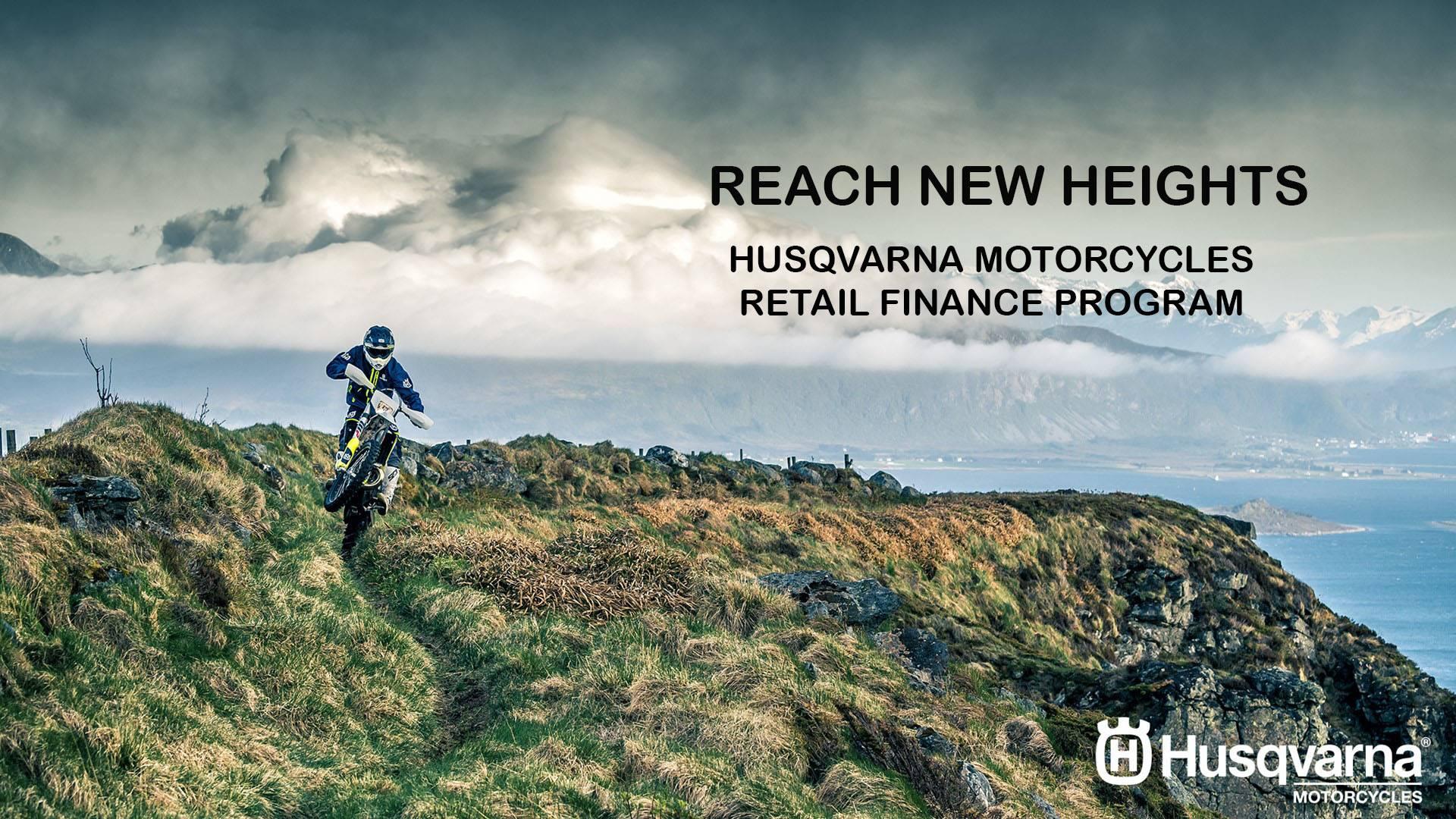 Husqvarna - Reach New Heights - Retail Finance Program