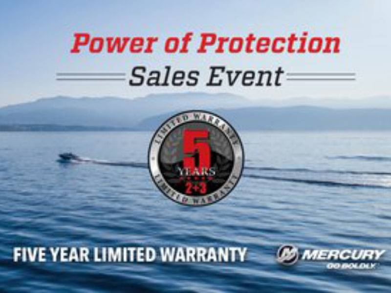 Mercury Marine - Power of Protection Sales Event