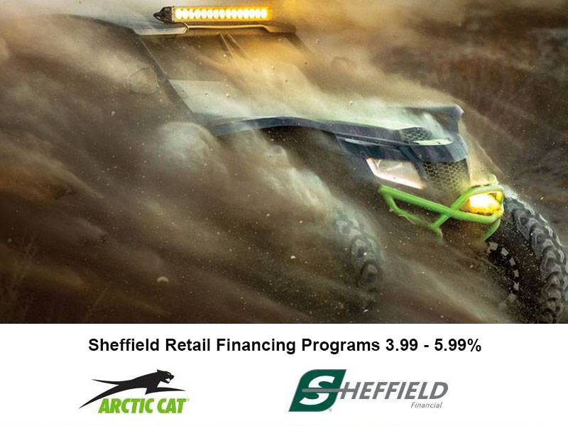 Arctic Cat - Sheffield Retail Financing Programs 3.99 - 5.99%