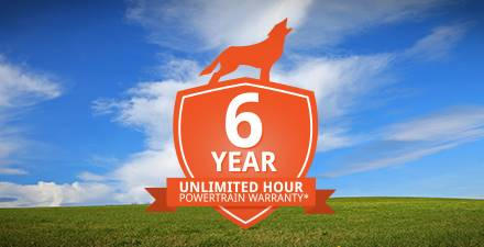 Kioti 6 Year Unlimited Hour Warranty