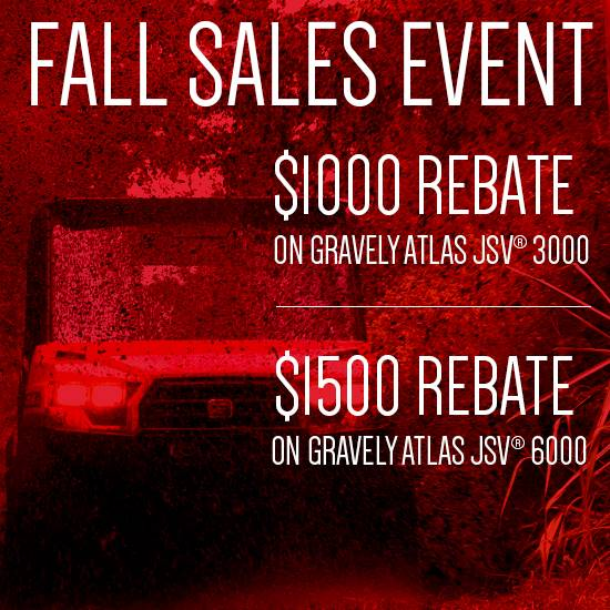 Gravely - Fall Sales Event - Atlas UTVs