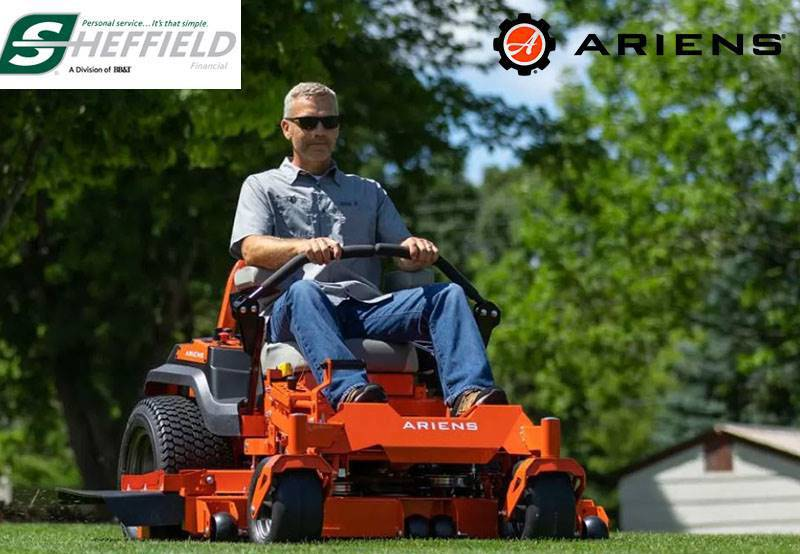 Ariens USA - Sheffield Financial - Mow Now Pay Later