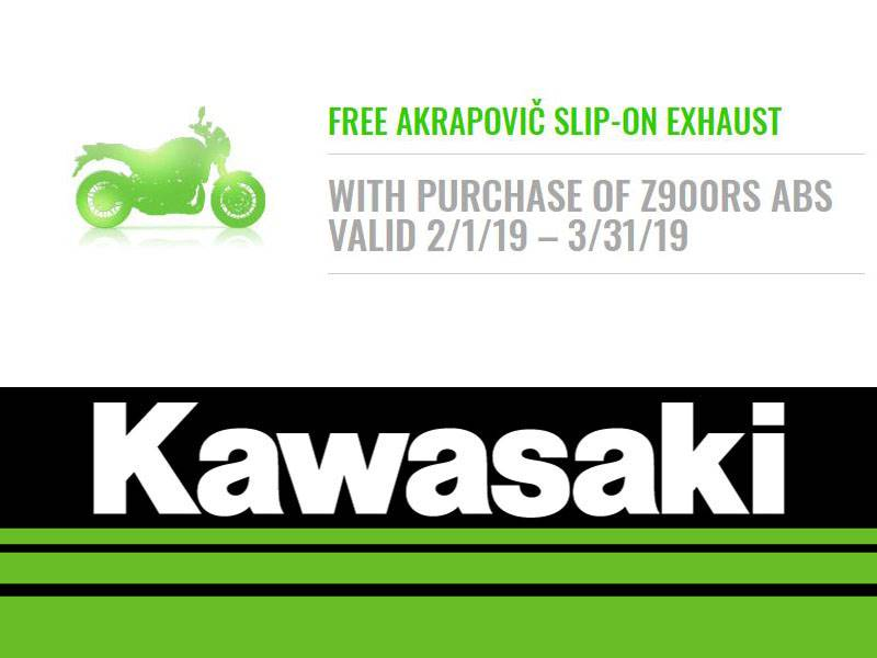 Kawasaki - Free Akrapovic Slip-On Exhaust