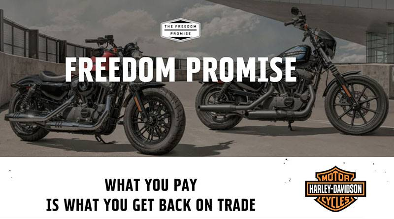 Harley-Davidson - Freedom Promise Program