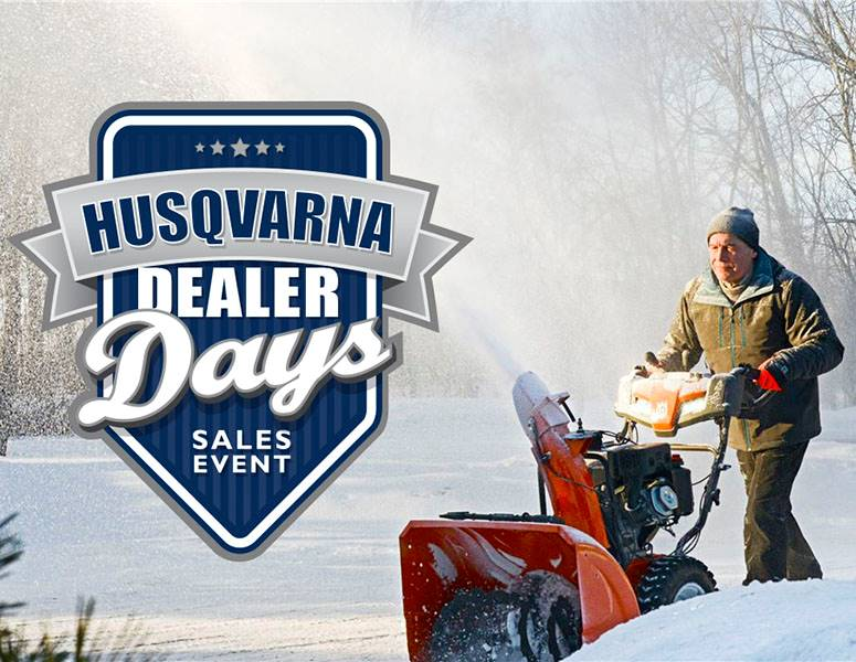 Husqvarna Power Equipment - Snow Blower Promotions
