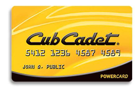 Cub Cadet - TD Bank, N.A. Promotional Financing Offers