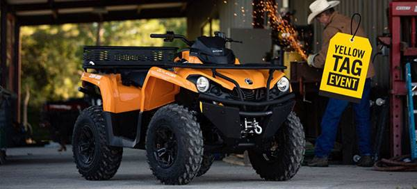 Can-Am Yellow Tag Event Rebate List Outlander