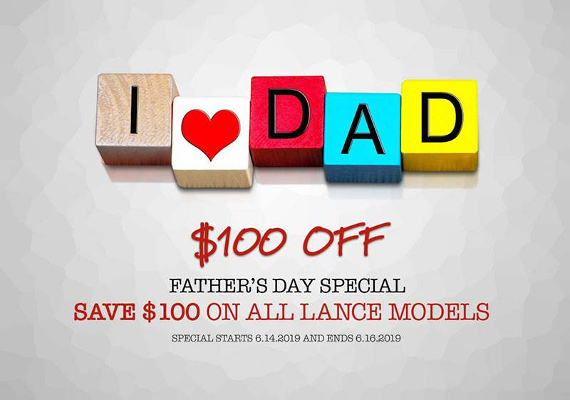 Lance Powersports - Father's Day Special