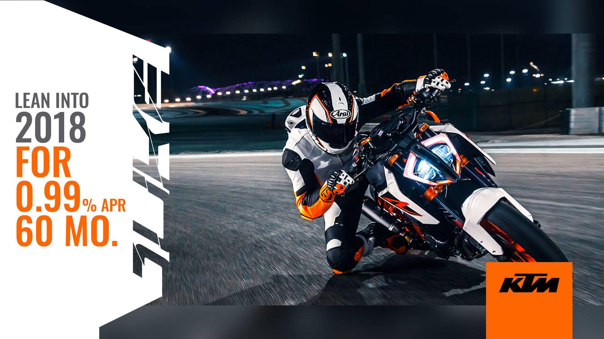 KTM - Lean Into 2018