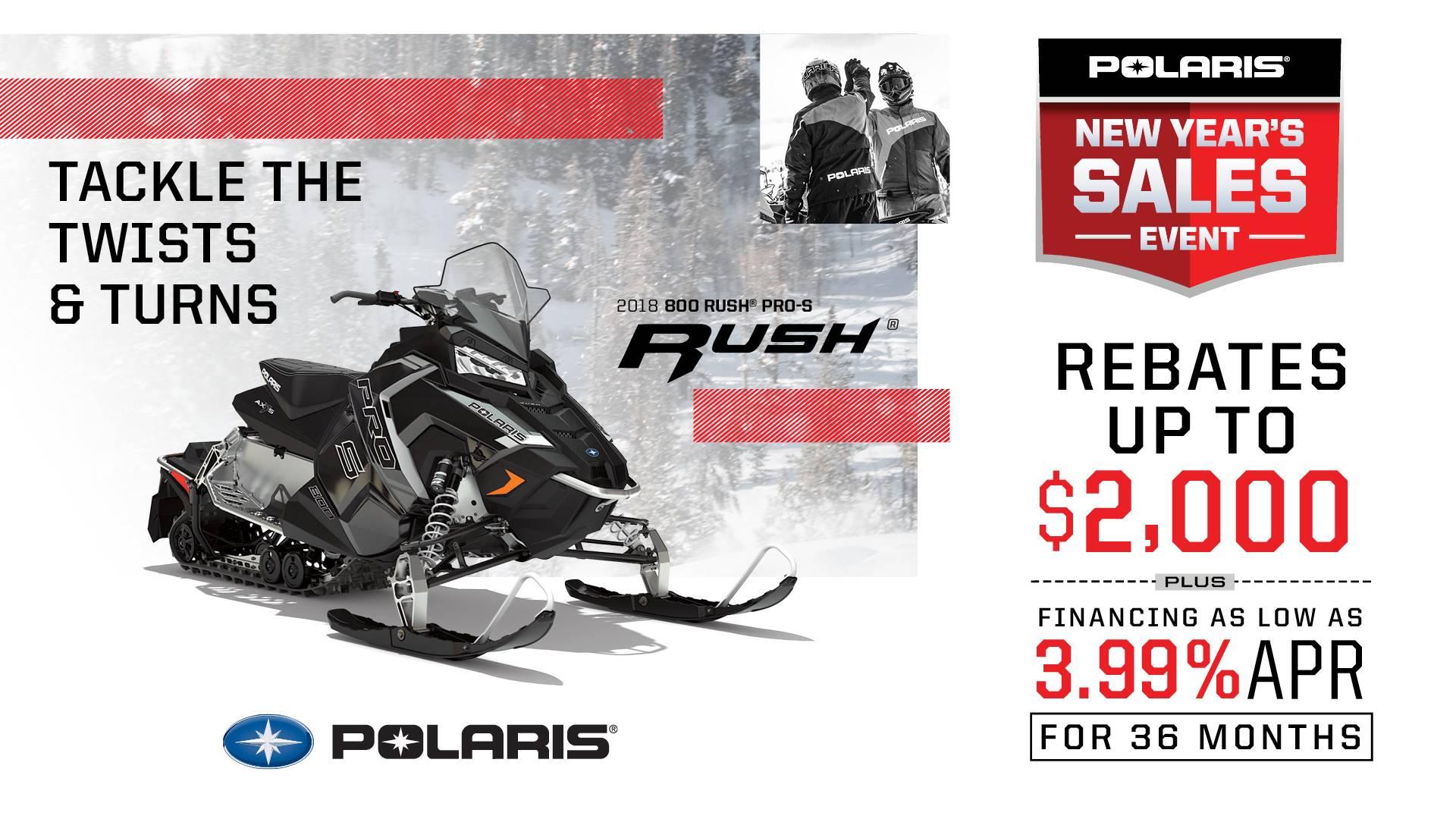 Polaris - New Year's Sales Event - Snowmobiles