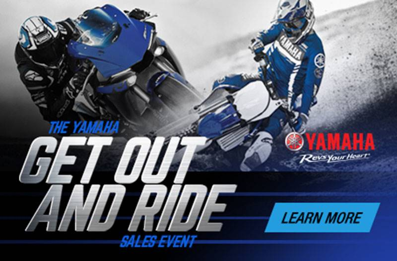 Yamaha Motor Corp., USA Yamaha - Get Out and Ride Sales Event - Motorcycles & Scooters