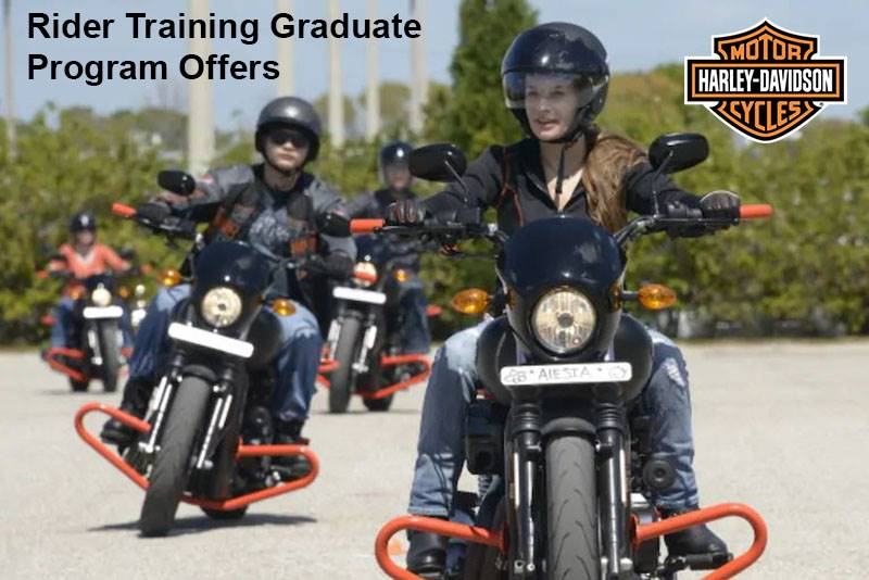 Harley-Davidson - Rider Training Graduate Program Offers