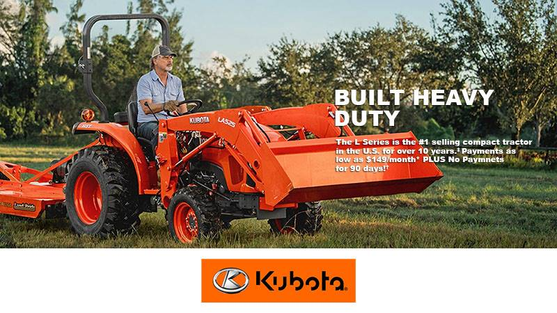 Kubota - L Series - Built Heavy Duty