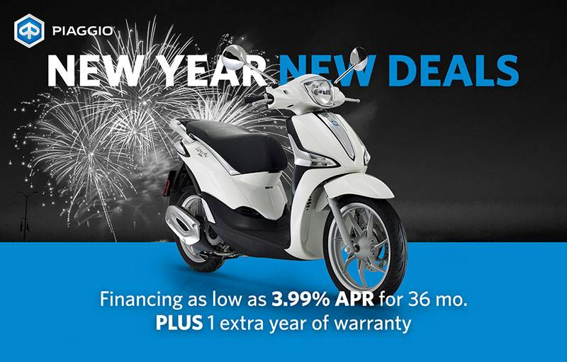 Piaggio - New Year, New Deals
