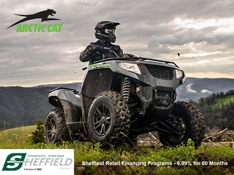 Arctic Cat - Sheffield Retail Financing Programs - 6.99% for 60 Months