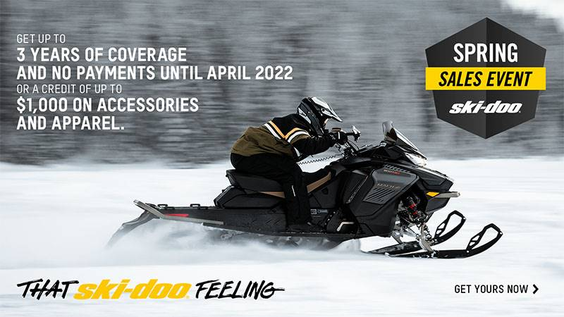 Ski-Doo - Spring Check Sales Event