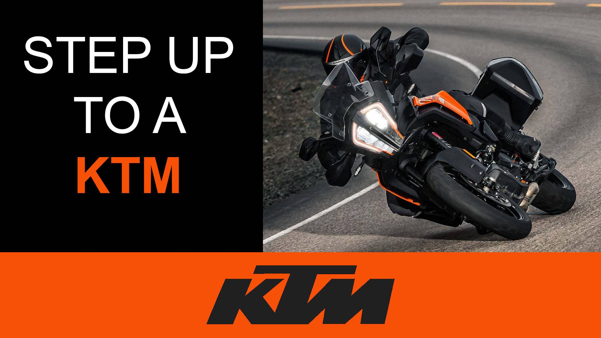 KTM - Step Up To A KTM