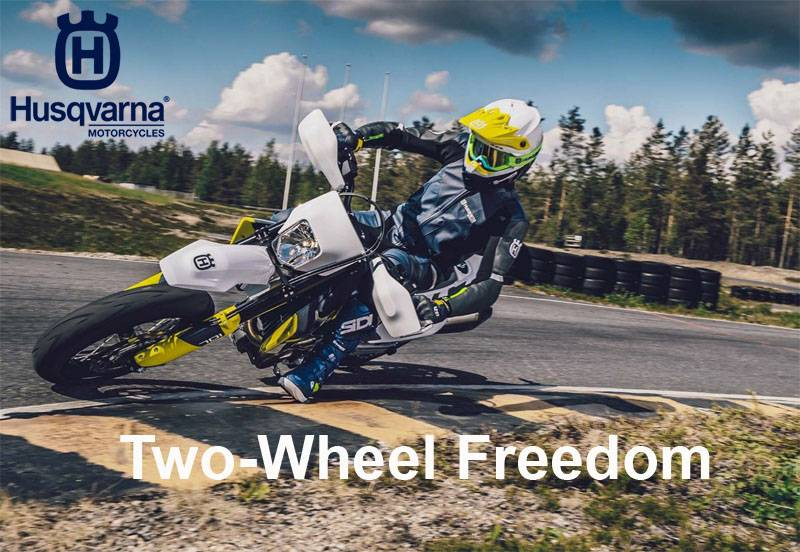 Husqvarna - Two-Wheel Freedom