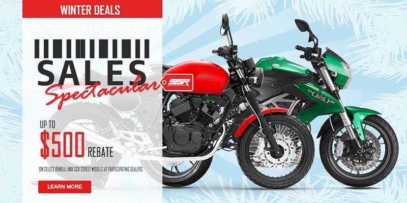 SSR Motorsports - Winter Deals