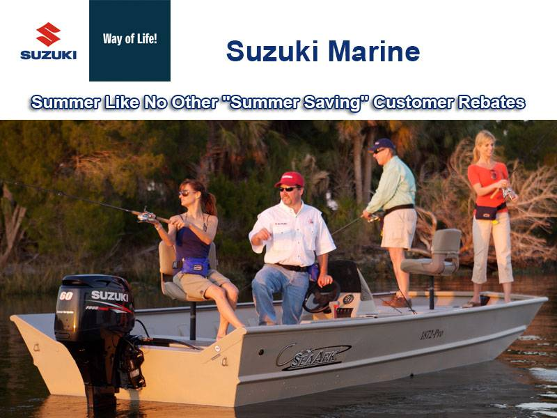 "Suzuki Marine - Summer Like No Other ""Summer Saving"" Customer Rebates"