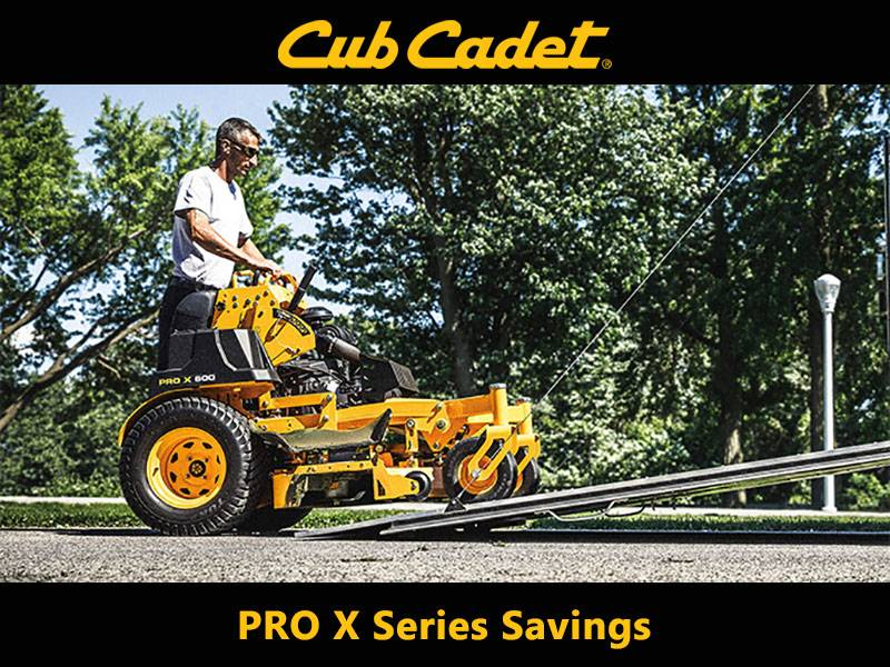 Cub Cadet - PRO X Series Savings