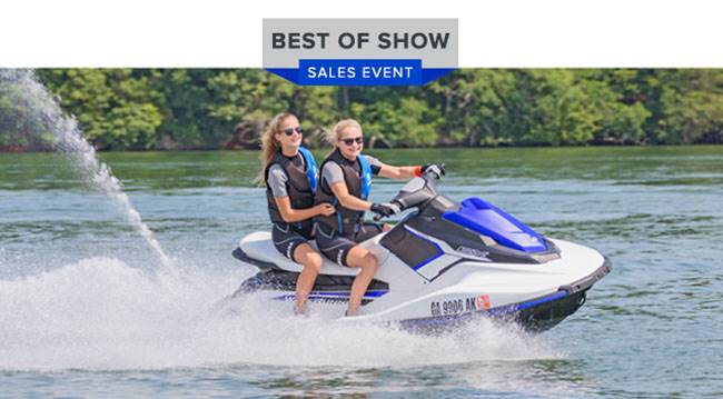 Yamaha Waverunners - Best of Show Sales Event - EX Series