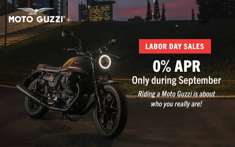 "Moto Guzzi - ""Labor Day Sales"" 2019"