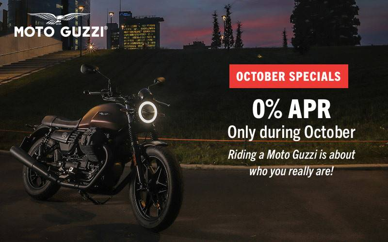 "Moto Guzzi - ""October Specials"" 2019"