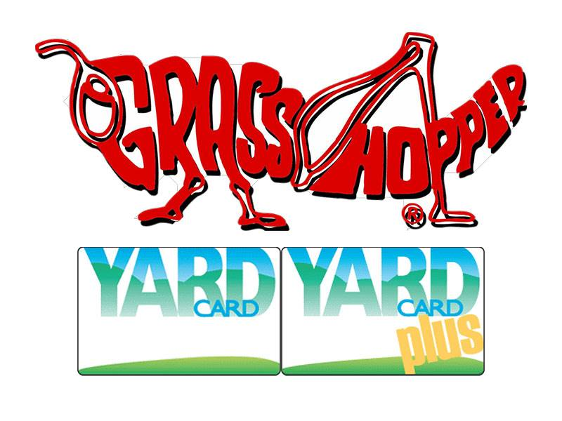 Grasshopper - Yard Card & Yard Card Plus Financing Offers