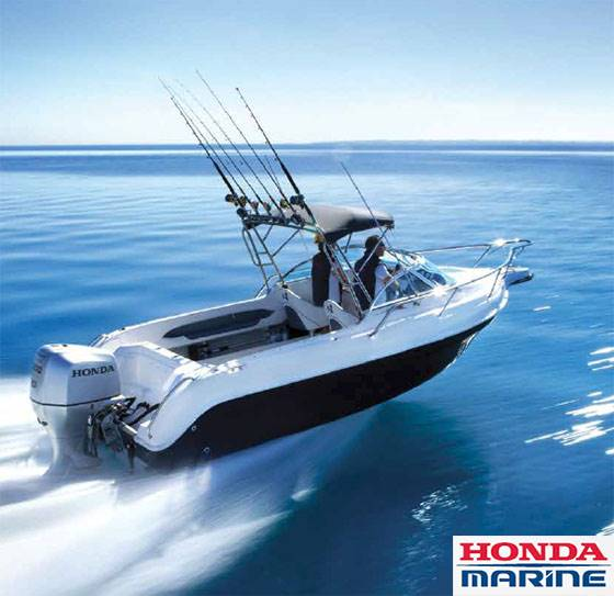 Honda Marine - 5.24% Financing on New Honda Outboards
