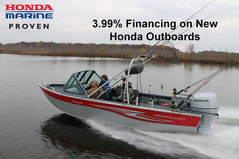Honda Marine - 3.99% Financing on New Honda Outboards