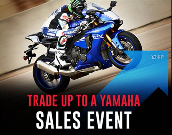 Yamaha Motor Corp., USA Yamaha - TRADE UP TO A YAMAHA SALES EVENT - Road Motorcycle