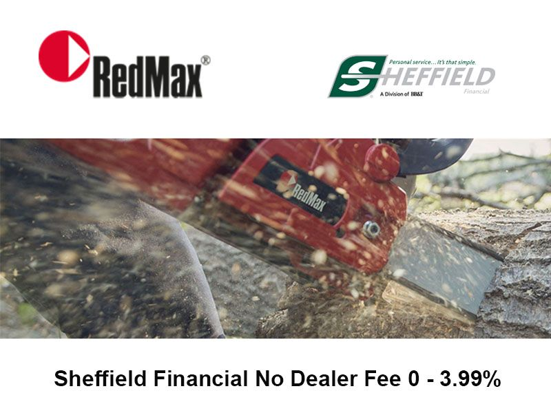 RedMax - Sheffield Financial No Dealer Fee 0 - 3.99%