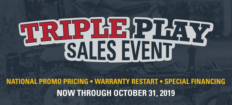 Exmark - Triple Play Sales Event