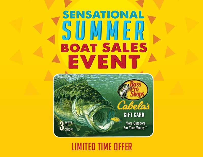 Nitro - Sensational Summer Boat Sales Event
