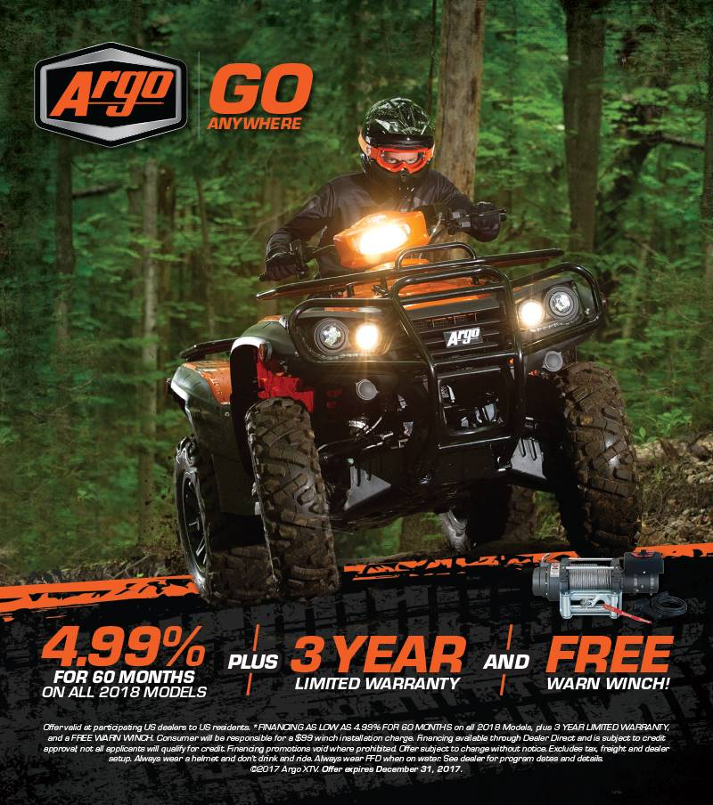 Argo Go Anywhere ATV