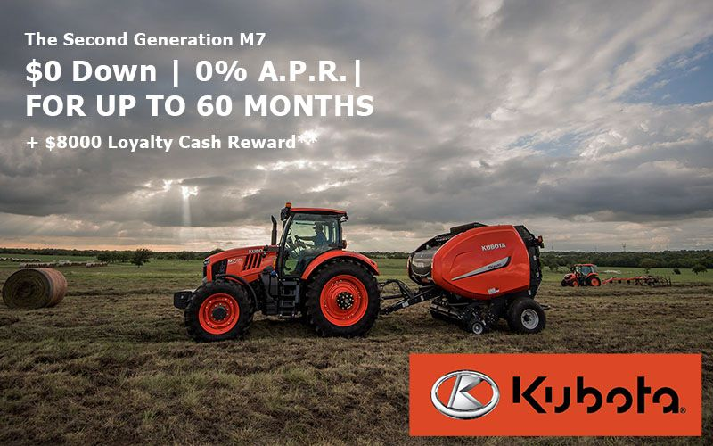 Kubota - The Second Generation M7