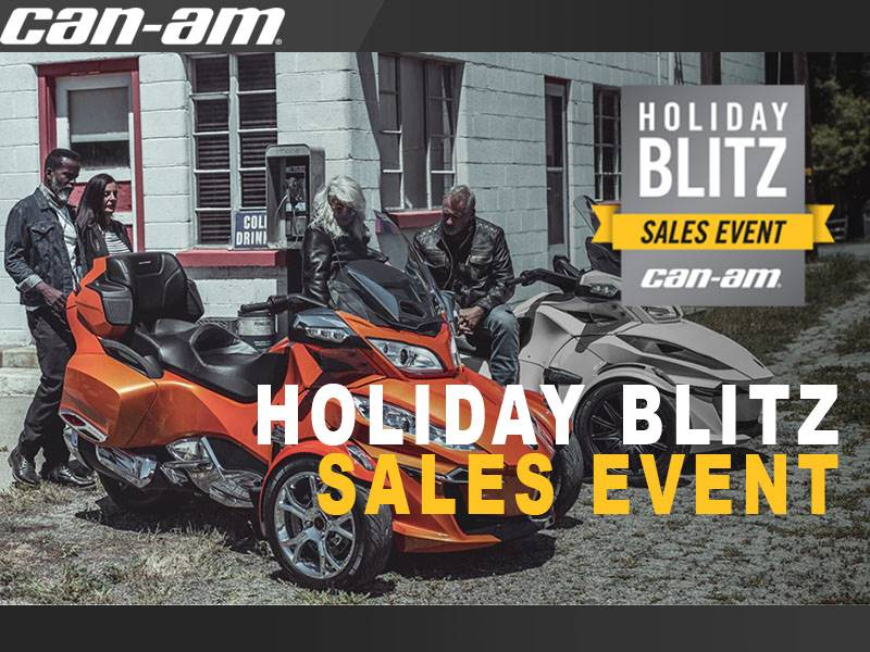 Can-Am - Holiday Blitz Sales Event - Spyder Offers