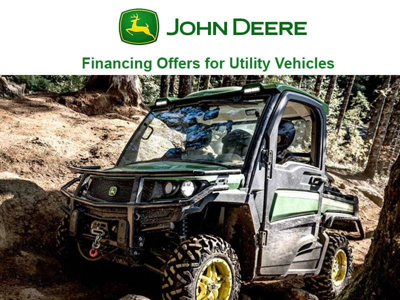 John Deere - Financing Offers for Utility Vehicles