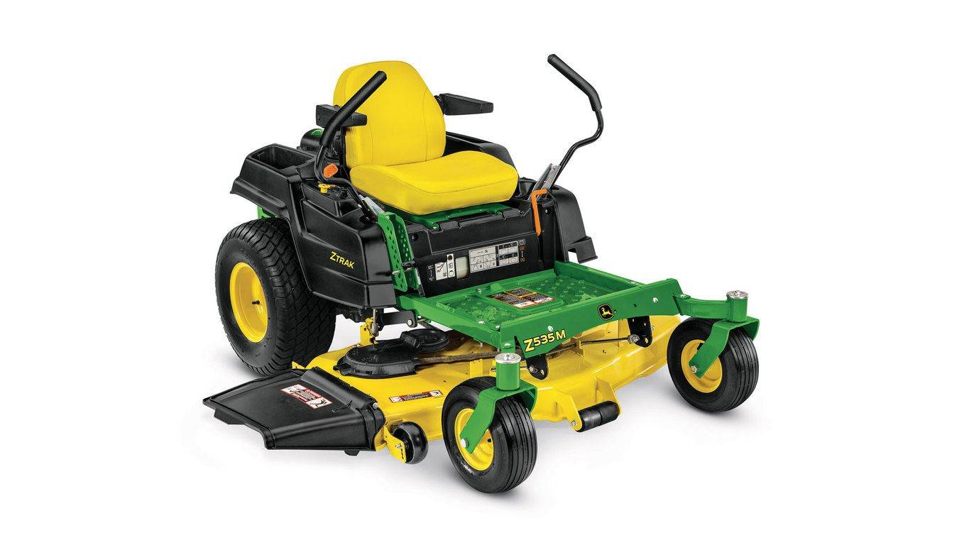 John Deere 4.90% APR fixed rate for 48 months on New John Deere Z500 Series Residential ZTrak Zero-Turn Mowers