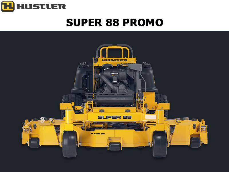 Hustler Turf Equipment - Super 88 Promo
