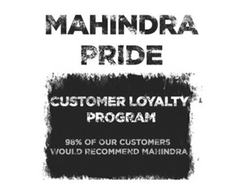 Mahindra Pride Rebate - Customer Loyalty Program