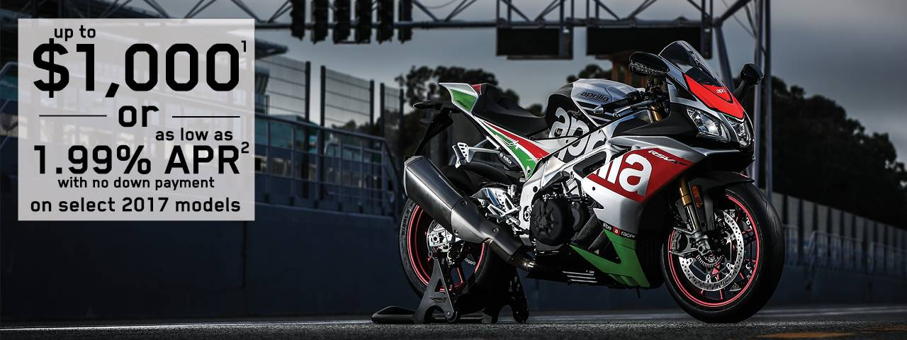 Aprilia - New Year, New Deals