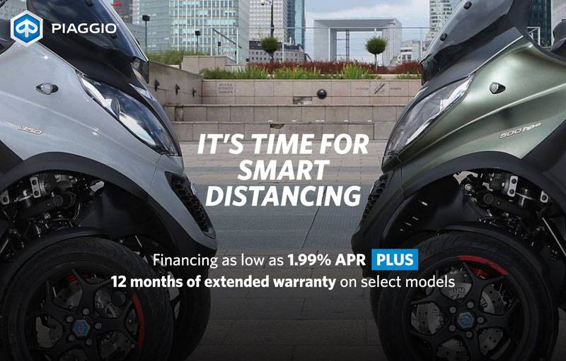 Piaggio - It's Time For Smart Distancing